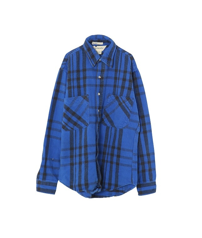 USED/BIG MAC ST.JOHN'S BAY HEAVY FLANNEL SHIRT