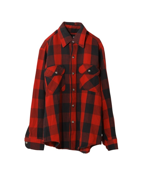 USED/ST.JOHN'S BAY HEAVY FLANNEL SHIRT