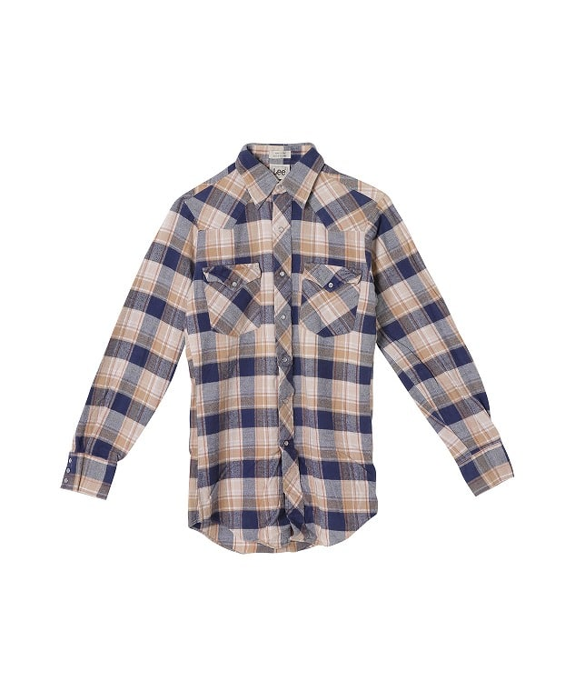 USED/LEE COTTON L/S WESTERN SHIRT
