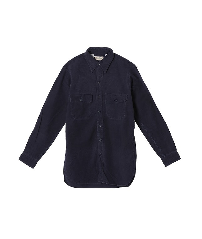 USED/L.L.BEAN COTTON L/S SHIRT