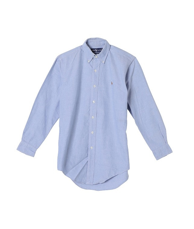 USED/RALPH LAUREN L/S BUTTON DOWN SHIRT