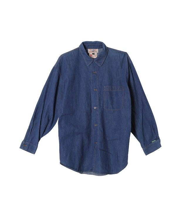 USED/BIS DENIM L/S SHIRT
