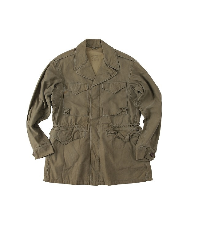 USED/US MILITARY M-43 FIELD JACKET