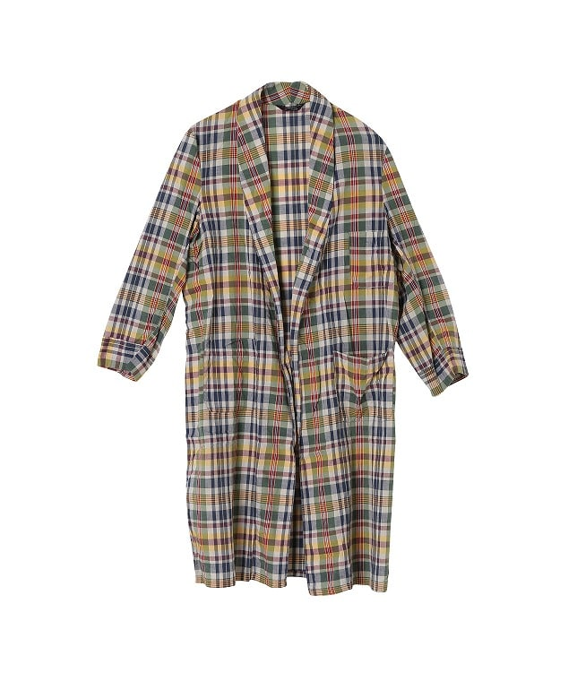 USED/PENNEY'S TOWNCRAFT PLAID COTTON GOWN