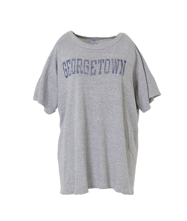 USED/CHAMPION GEORGETOWN Tシャツ