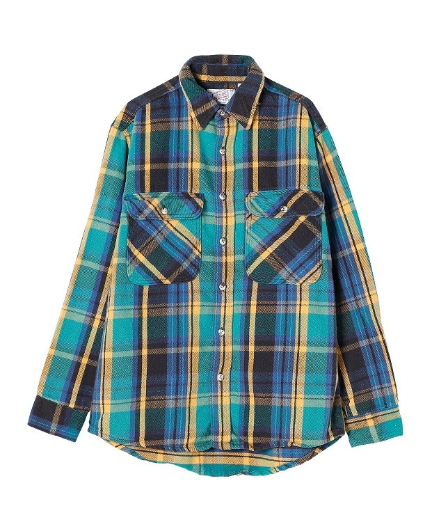 USED/PRIVATE PROPERTY EAVY FLANNNEL SHIRT