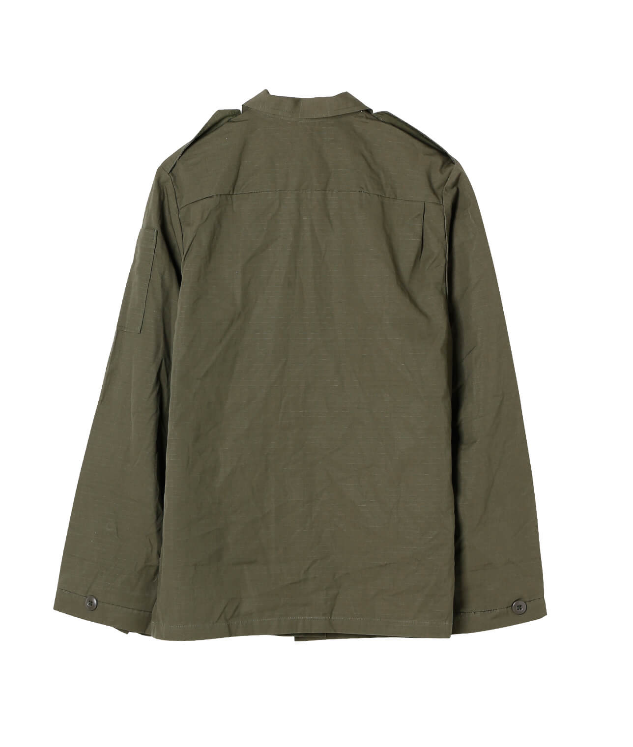USED/US MILITARY W's RIPS TOP SHIRT DEAD STOCK 詳細画像 カーキ 2