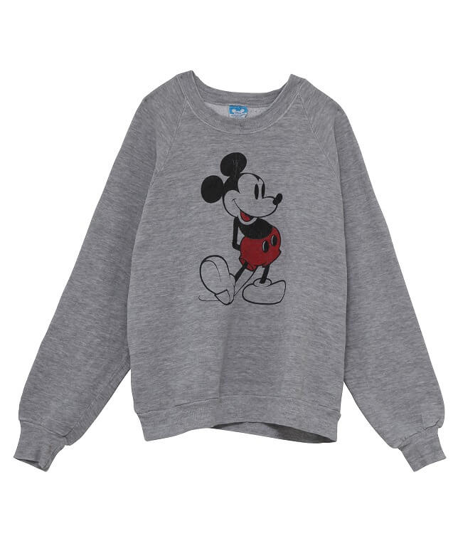 USED/70-80's MICKEY MOUSE SWEAT SHIRT