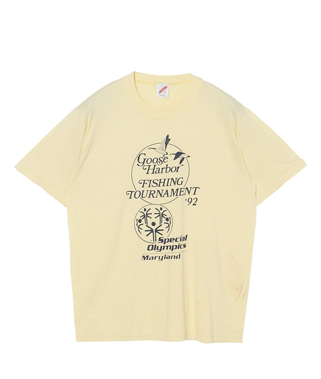 USED/Goose Harbor FISHING TOURNAMENT Tシャツ