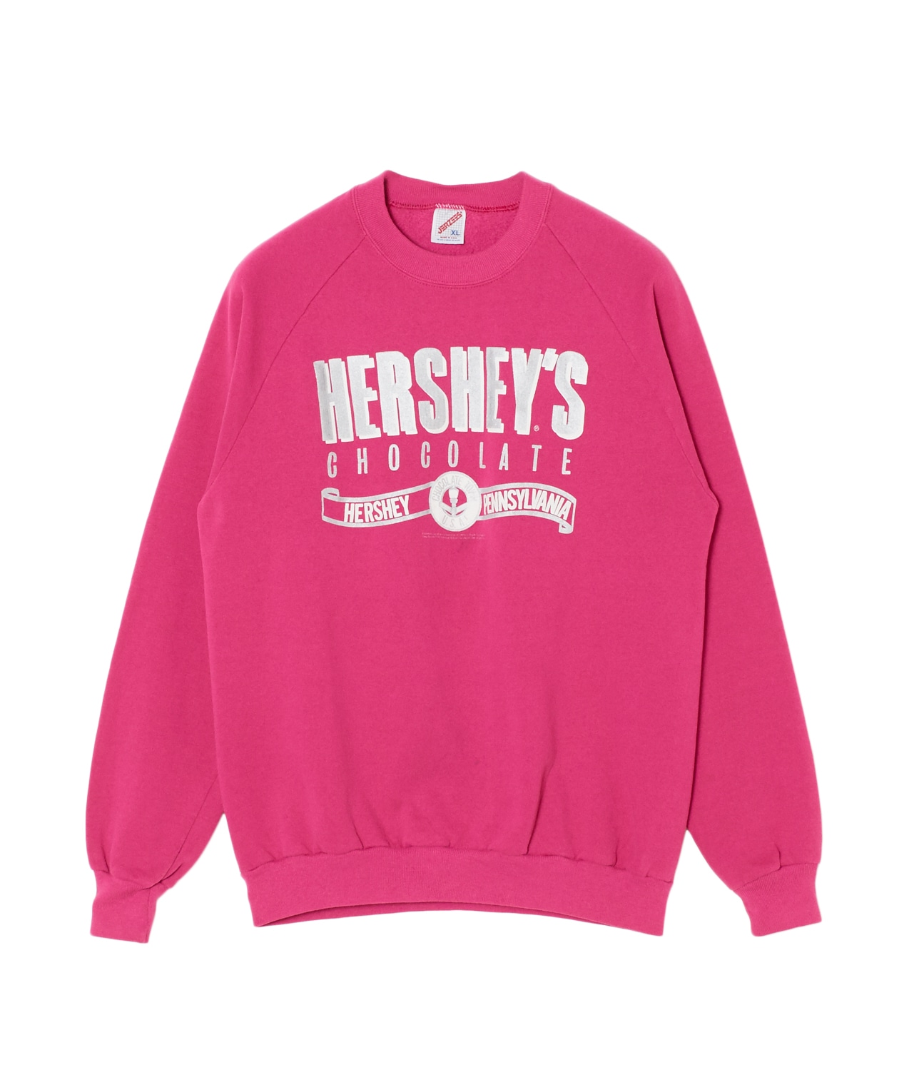 "USED/""HERSHEY'S CHOCOLATE""スウェット 詳細画像 ピンク 1"