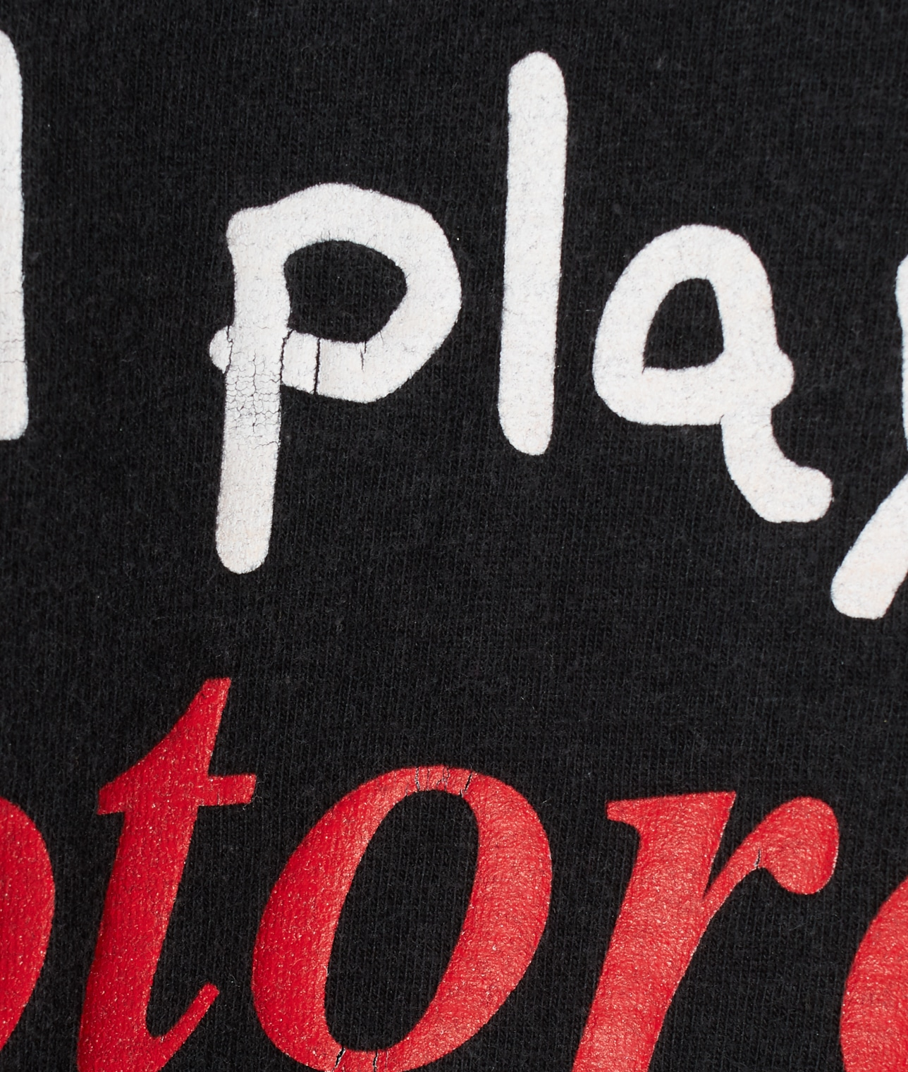 "USED/""STILL PLAYS WITH MOTORCYCLES"" T SHIRT 詳細画像 BLACK 4"