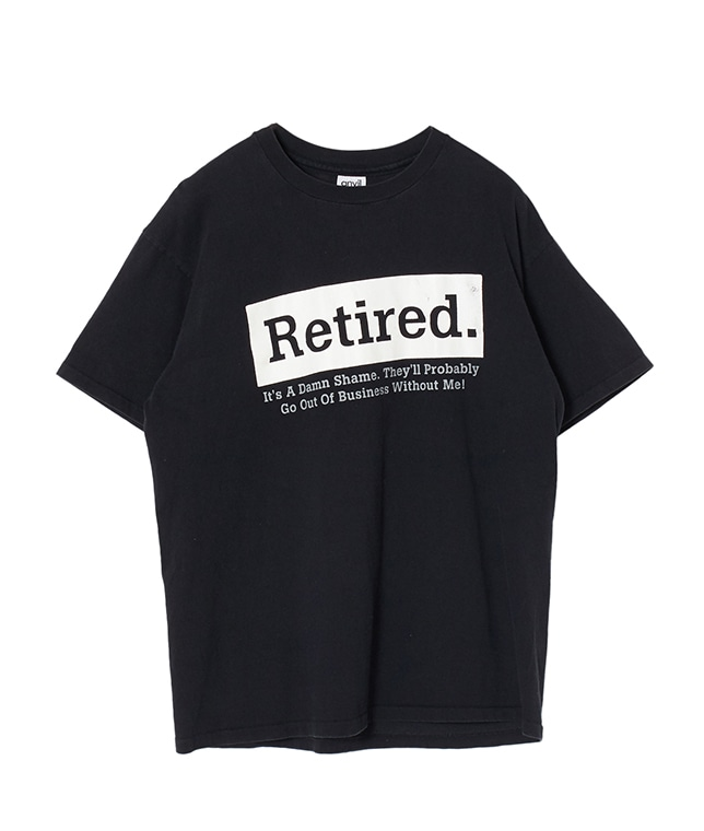 "USED/""RETIRED"" T SHIRT"