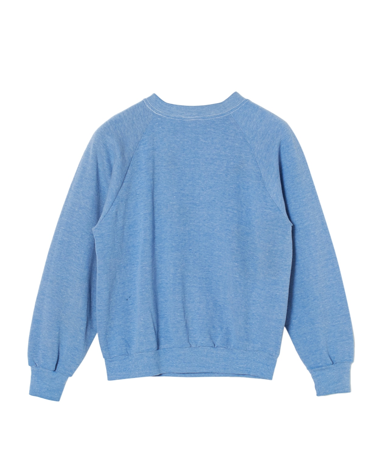 USED/UNKNOWN BRAND PLAIN SWEAT SHIRT 詳細画像 BLUE 2