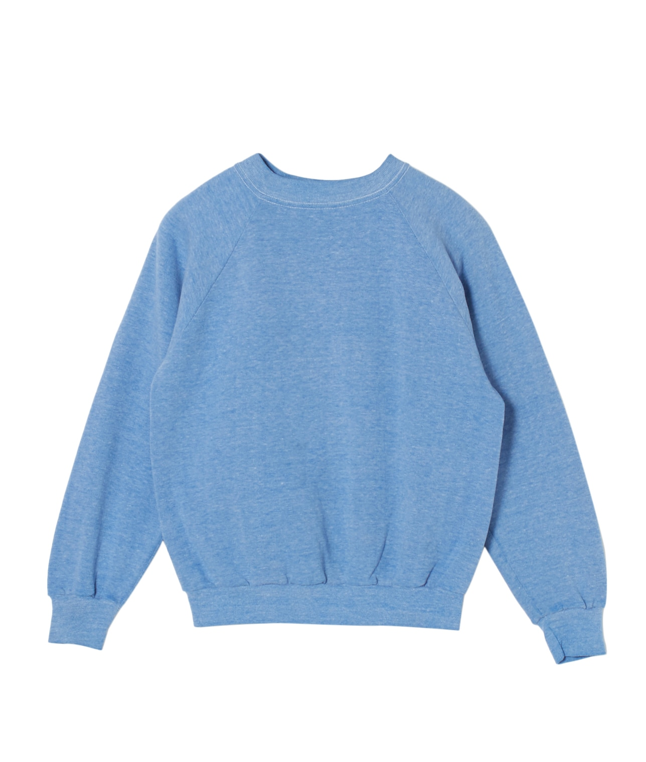 USED/UNKNOWN BRAND PLAIN SWEAT SHIRT 詳細画像 BLUE 1
