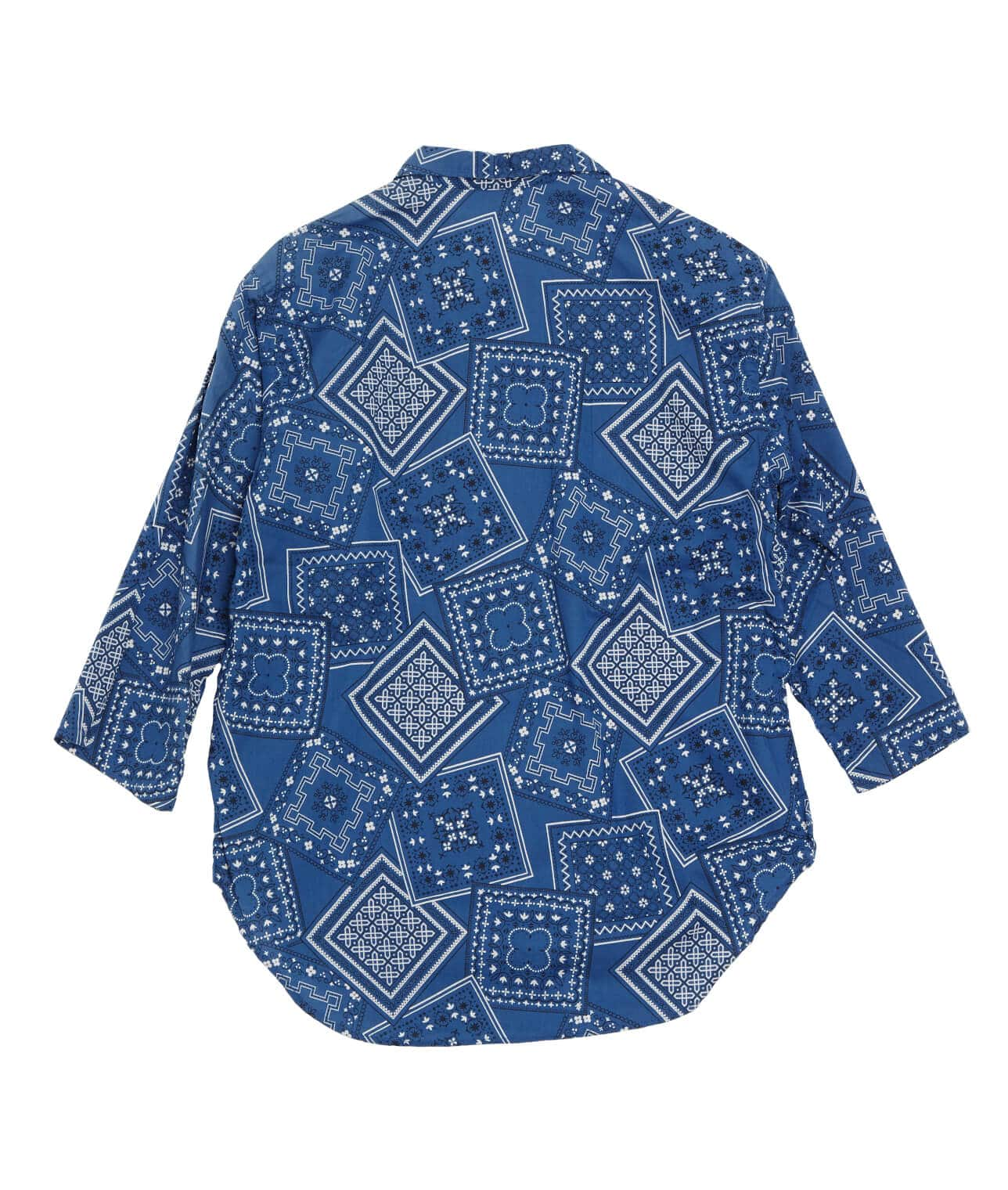 USED/BANDANA PATTERN ALL PRINT LOOP SHIRT  詳細画像 BLUE 2