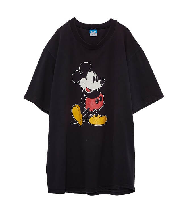 USED/80's WALT DISNEY MICKEY MOUSE T SHIRT(XL)【CLASSY.8月号掲載】