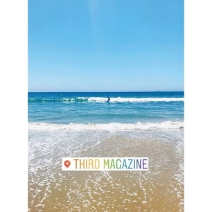 BEACH in THIRD MAGAZINE